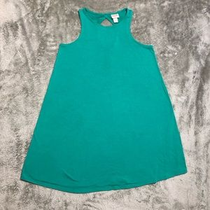 MOSSIMO- Green A-line dress Size S